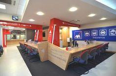Flagship retail branch design for Axa Insurance: