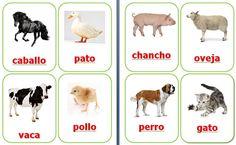 Set animales de granja $1.750