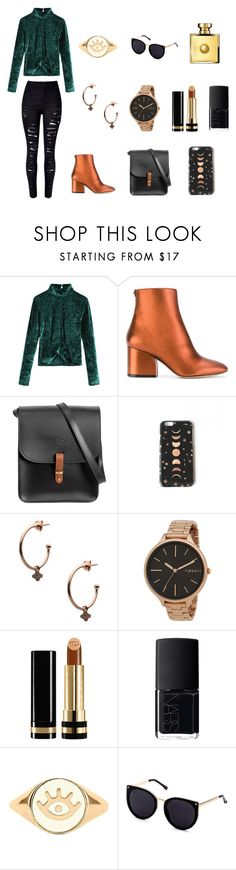 """""""Teal and Copper"""" by elliebazin ❤ liked on Polyvore featuring Salvatore Ferragamo, N'Damus, Nikki Strange, Kurshuni, Rip Curl, Gucci, NARS Cosmetics, Lee Renee and Versace"""