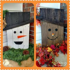 Hey, I found this really awesome Etsy listing at https://www.etsy.com/listing/555117861/reversible-scarecrowsnowman-decoration