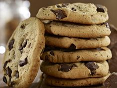 Super chewy, super tasty: This cookies recipe is worth every sin!, Super chewy, super tasty: This cookies recipe is worth every sin! American Cookies Recipe, Cookies Receta, Cookies Faciles, Tasty Cookies, Homemade Cookies, Keks Dessert, Chocolate Chunk Cookies, Chocolate Chips, American Chocolate Chip Cookies
