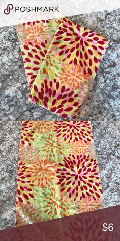 (Set of 2) Fiestaware dish towels Multi colored dish towels will add the perfect pop to any kitchen! 2 years old. They are used, but are in great condition. No stains, holes, or rips! Fiesta Other