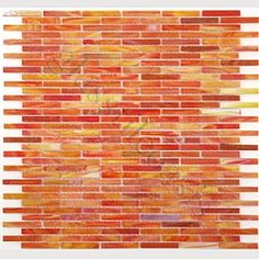 Kitchen Backsplash Orange glass tile kitchen backsplash designs | orange mosaic | home decor