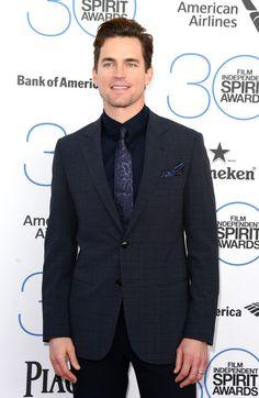 Actor Matt Bomer attends the 2015 Film Independent Spirit Awards at Santa Monica Beach on February 21, 2015 in Santa Monica, California.