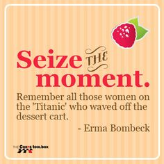 Emma Bombeck #chefstoolbox Erma Bombeck, Get Over It, Tool Box, Inspire Me, Personal Care, In This Moment, Thoughts, Humor, Random