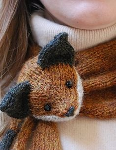 Cute Fox Scarf!