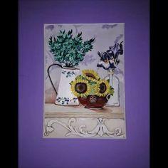 #art #pain #painting #flowers #kvet #kvety  #acrylics #acryl #colors #color #krasa #nice  #love #smile #fantázia #fantasy #obrazok  #musicmyheart #vintage #video #movie #movies #danoheriban  #music Painting Flowers, Acrylics, Smile, Fantasy, Photo And Video, Colors, Movies, Vintage, Instagram
