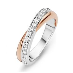 Moments Zilver-Vergulde Ring met Zirkonia maat 60  Description: Moments Zilver-Vergulde Ring met Zirkonia maat 60  Price: 59.00  Meer informatie