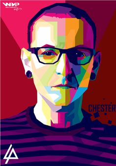 Rest in peace Chester bennington (linkin park) wpap by ariefpeinz on DeviantArt Heavy Metal, Linkin Park Wallpaper, Pics, Caricature, Wpap Art, Art, Pictures, Pop Art, Wpap