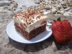 Jahodová kocka Tiramisu, Cake, Ethnic Recipes, Food, Basket, Kuchen, Essen, Meals, Tiramisu Cake