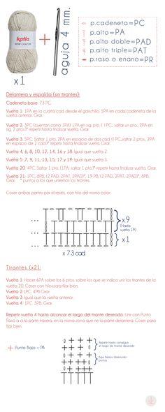 14517209581_14aae81f10_o Beach Crochet, Crochet Bra, Hippie Crochet, Crochet Stitches, Crochet Patterns, Crochet Hats, Crochet Ideas, Circuit Tattoo, Cotton Textile