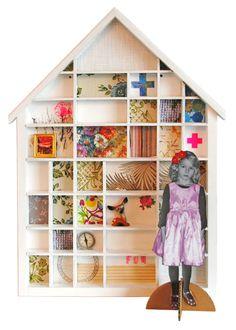 foto en minitura para casa de muñecas