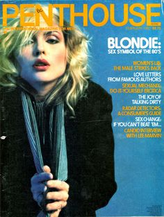 Debbie Harry, Penthouse magazine cover
