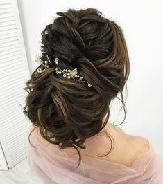 pretty braided updo hairstyle ideas | Bridal updo hairstyles | chignon wedding hairstyles | fabmood.com #weddinghair #harido updo hairstyle #promhair #besthairstyle #hairstyle #hairstyleideas #hairinspiration #weddinghairstyleideas #hairideas