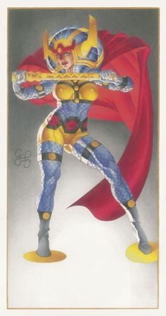Big Barda by Craig Hamilton