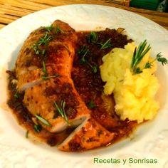TE SORPRENDERÁ SEGURO!!!   Esta receta la puedes hacer con pavo, pollo,... Es una salsa riquísima y que seguro que te sorprende. Está súper ...