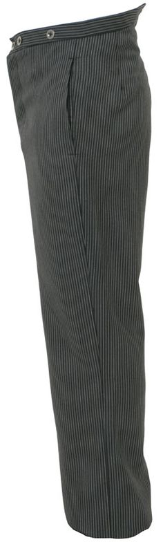 Charcoal Striped Trousers (Civilian)