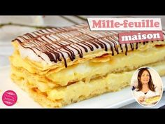 Mille-feuille traditionnel maison - Il était une fois la pâtisserie French Cake, Puff Pastry Recipes, Savoury Dishes, Traditional House, Cake Recipes, Bakery, Muffin, Easy Meals, Food And Drink