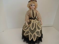 13 inch Artist Signed French Fashion Reproduction Doll | eBay