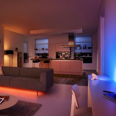 Philips Hue Personal Wireless Lighting enables you to control light using your smart device. Personalize your lighting to suit your lifestyle.