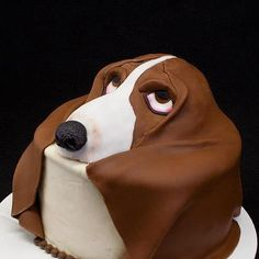 Basset Cake ~ OMG! Gotta Make This!