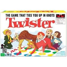 People have been getting twisted and tangled playing Twister since the For players and ages 6 and up. • Contains vinyl twister mat • Foot Games, Fun Party Games, Party Games For Toddlers, Party Ideas, Ondine, Classic Board Games, Board Games For Kids, Thing 1