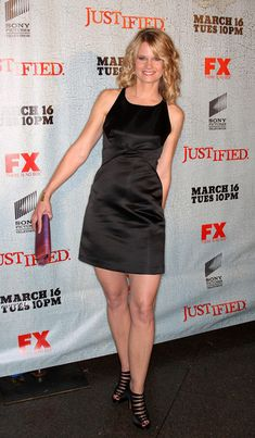 JUSTIFIED Joelle Carter - See photos of the FX Western/Crime TV series