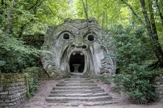 "Monster by Patrice Dwyer on 500px My favorite ""monster"" in the whole place!  Il Parco di Mostri - Bomarzo, Italy"