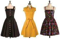 vestidos acinturados lindos modelos