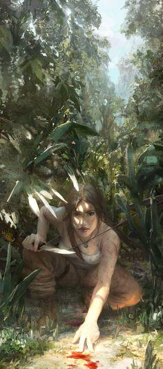 Lara Croft - The Hunter by fooyee.deviantart.com on @deviantART