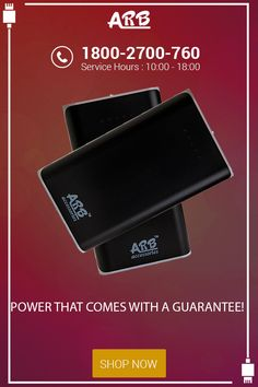 Power That Comes With a Guarantee!  #PowerBank #ARBPowerBank #OnlinePowerBank  Buy Here: - http://arbpowerbank.com/