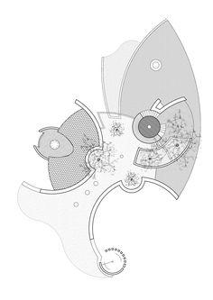 Media for House Steenkamp Architecture Plan, Landscape Architecture, Interior Architecture, Landscape Design, Concept Diagram, Landscape Plans, Master Plan, Floor Design, Building Design