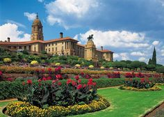 The Union Buildings in Pretoria, Gauteng, South Africa. Audley Travel, Durban South Africa, Namibia, Pretoria, Africa Travel, Beautiful Buildings, Countries Of The World, Travel Photography, Places To Visit