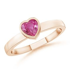 Angara Square Pink Sapphire and Diamond Promise Ring in White Gold 7hHwcicJl