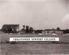 Christopher Newport College First Decaders 1961 - 1971 Newport News Virginia, Virginia Beach, Jamestown Colony, Virginia History, Hampton Roads, Old Building, Portsmouth, The Hamptons, University