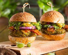 Green Garbanzo Falafel BLT Burgers