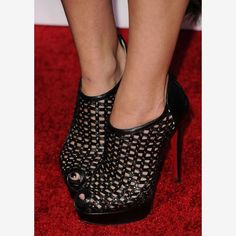 Christian Louboutin. Love these, and in white too!