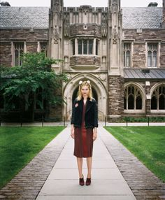 """The Terrier and Lobster: """"Beautiful Minds"""": Ivy League Models"""