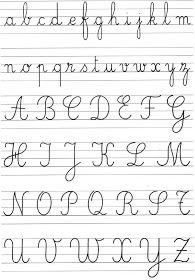 Même si l'écriture est universelle, chaque pays a une façon bien particulière d'écrire . Alors que l'élève mexicain apprend à écrire en scri...