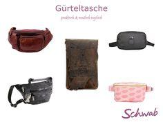 Eine modische #Gürteltasche ist häufig praktischer, als eine  Handtasche oder ein Rucksack