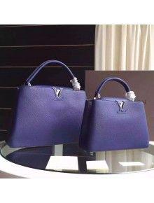 Louis Vuitton Capucines MM/BB M94665 Indigo
