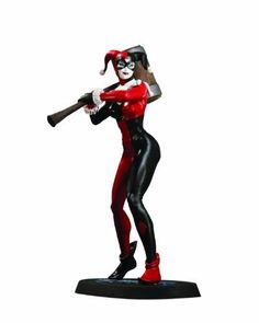 DC Direct DC Universe Online Statue: Harley Quinn by DC Direct. $79.99. Based on the art of comic art great Jim Lee, created for Sony Entertainment's DC Universe Online Massively Multi-Player Online Game. Hand-painted, cold-cast porcelain. Dynamically posed on a consistent base. Depicts the main squeeze of the nefarious Joker. Part of a series recreating the game's many DC heroes and villains. From the Manufacturer                Based on the art of Jim Lee. Harley Quin...