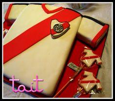 #Tortas #Cake #Futbol #Camiseta #River #RiverPlate #TaitEventos