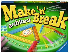 Make n Break Architect Spiele; Maker, Bottle, How To Make, Twitter, Products, Family Games, Flask, Gadget