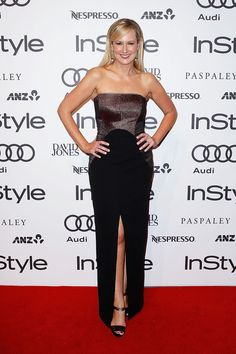 Melissa Doyle Photos - Melissa Doyle arrives at the Instyle and Audi 'Women of Style' Awards on May 2014 in Sydney, Australia. - Instyle and Audi 'Women of Style' Awards Allroad Audi, Audi A3 Sportback, Ginger And Smart, Strapless Dress Formal, Formal Dresses, Audi A5, Red Carpet Event, Celebrity Red Carpet, Awards