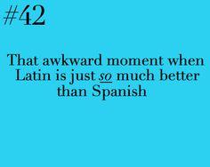 Where Latin students can vent and rejoice! Funny Pics, Funny Stuff, Random Stuff, Ecce Romani, Evan, Latin Language, Student Problems, Study Organization, Awkward Moments