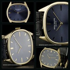 PATEK PHILIPPE 18K YELLOW GOLD BLUE DIAL HORIZONTAL ELLIPSE GENTS 3845 http://www.watchcentre.com/product/patek-philippe-18k-yellow-gold-blue-dial-horizontal-ellipse-gents-3845/7090 #PatekPhilippe #18kYellowGold #Horizontal #Ellipse #Gents #Wristwatch #Luxury #Timepiece #WatchCentre