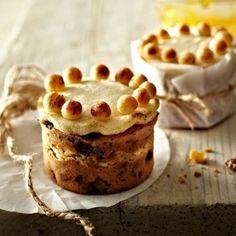 Mini Simnel Cakes