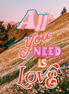 All you need is Love typography collage by madelinejoyking Alles was Sie brauchen ist Love Typografie Collage von Madelinejoyking Collage Mural, Bedroom Wall Collage, Photo Wall Collage, Love Collage, Collage Pictures, Collage Vintage, Collage Ideas, 70s Aesthetic, Aesthetic Pictures