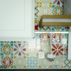 Patchwork Tile Stenc